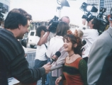 <h5>WILD THORNBERRYS MOVIE</h5><p>On the red carpet at  The Wild Thornberrys premiere.</p>