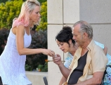 <h5>ST VINCENT</h5><p>On set with Bill Murray and Naomi Watts.</p>