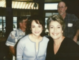 <h5>DIAGNOSIS MURDER</h5><p>On set with Helen Reddy - She is woman, hear her roar!</p>