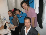 <h5>JOURNEY TO DOLLYWOOD</h5><p>Backstage with Jessie McCormick, Henry Gummer and Eric Van Wyck</p>