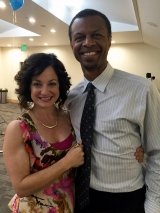 <h5>HOW TO BEAT YOUR SISTER-IN-LAW (at everything)</h5><p>w Phil LaMarr on set</p>